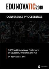 Conference Proceedings EDUNOVATIC 2018