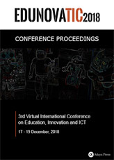 Conference Proceedings EDUNOVATIC 2018